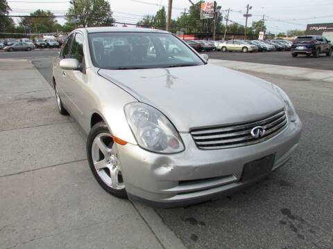 2003 Infiniti G35 for sale at K & S Motors Corp in Linden NJ