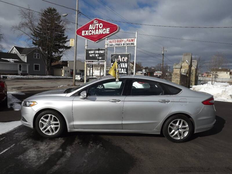 2013 Ford Fusion for sale at The Auto Exchange in Stevens Point WI