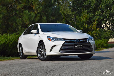 2017 Toyota Camry Hybrid for sale at Rosedale Auto Sales Incorporated in Kansas City KS