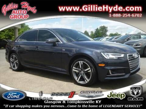 2017 Audi A4 for sale at Gillie Hyde Auto Group in Glasgow KY