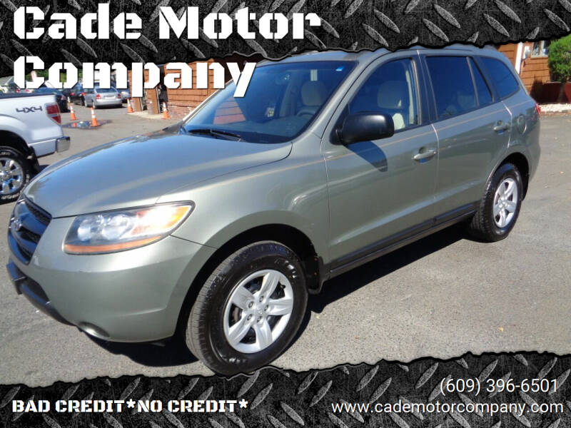 2009 Hyundai Santa Fe for sale at Cade Motor Company in Lawrenceville NJ