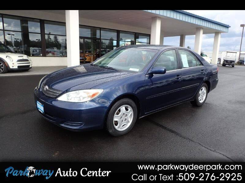 2002 Toyota Camry for sale at PARKWAY AUTO CENTER AND RV in Deer Park WA