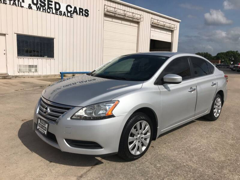 2013 Nissan Sentra for sale at MARLER USED CARS in Gainesville TX