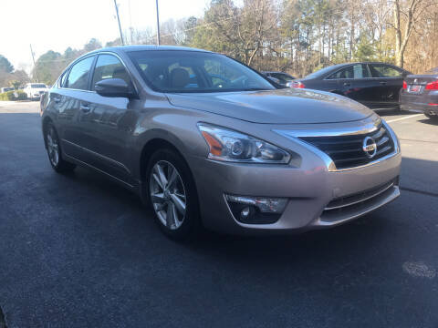 2015 Nissan Altima for sale at European Performance in Raleigh NC