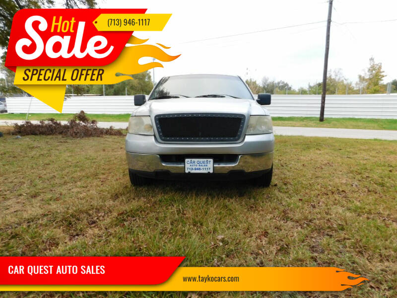 2005 Ford F-150 for sale at CAR QUEST AUTO SALES in Houston TX
