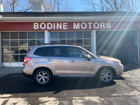 2015 Subaru Forester for sale at BODINE MOTORS in Waverly NY