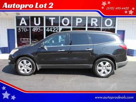 2011 Chevrolet Traverse for sale at Autopro Lot 2 in Sunbury PA
