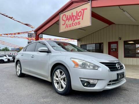 2014 Nissan Altima for sale at Sandlot Autos in Tyler TX
