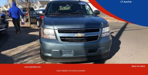 2010 Chevrolet Tahoe Hybrid for sale at CT AutoFair in West Hartford CT