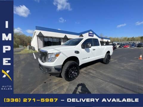 2018 Nissan Titan XD for sale at Impex Auto Sales in Greensboro NC