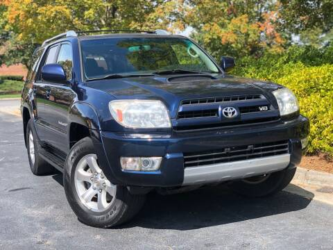 2004 Toyota 4Runner for sale at William D Auto Sales in Norcross GA