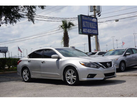 2017 Nissan Altima for sale at Winter Park Auto Mall in Orlando FL