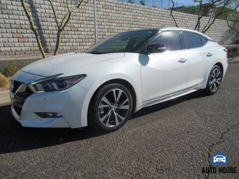 2017 Nissan Maxima for sale at AUTO HOUSE TEMPE in Tempe AZ