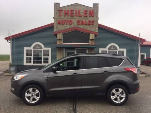 2015 Ford Escape for sale at THEILEN AUTO SALES in Clear Lake IA