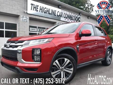 2021 Mitsubishi Outlander Sport for sale at The Highline Car Connection in Waterbury CT