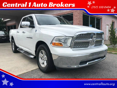 2011 RAM Ram Pickup 1500 for sale at Central 1 Auto Brokers in Virginia Beach VA