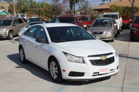 2011 Chevrolet Cruze for sale at Car 1234 inc in El Cajon CA