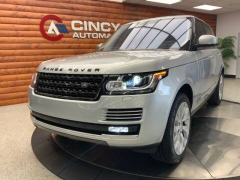 2016 Land Rover Range Rover for sale at Dixie Motors in Fairfield OH