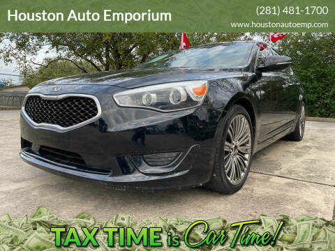 2014 Kia Cadenza for sale at Houston Auto Emporium in Houston TX