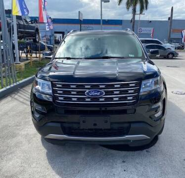 2017 Ford Explorer for sale at Navarro Auto Motors in Hialeah FL