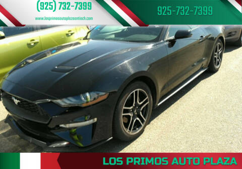 2018 Ford Mustang for sale at Los Primos Auto Plaza in Antioch CA