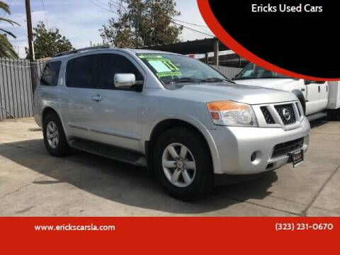 2011 Nissan Armada for sale at Ericks Used Cars in Los Angeles CA