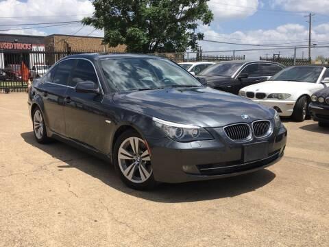 2010 BMW 5 Series for sale at TETCO AUTO SALES  / TETCO FUNDING in Dallas TX