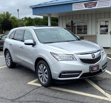 2014 Acura MDX for sale at Clapper MotorCars in Janesville WI