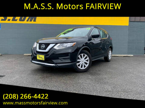 2018 Nissan Rogue for sale at M.A.S.S. Motors - Fairview in Boise ID