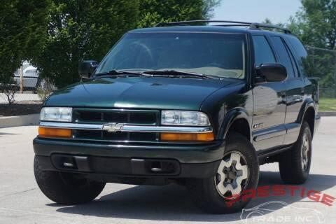 2002 Chevrolet Blazer for sale at Prestige Trade Inc in Philadelphia PA