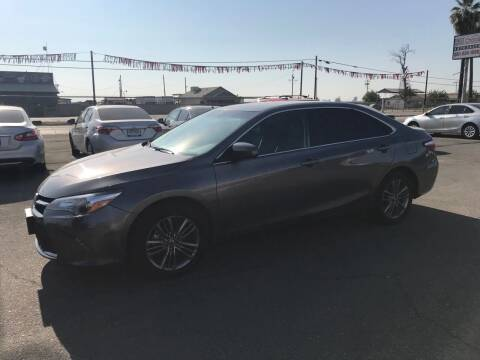2017 Toyota Camry for sale at First Choice Auto Sales in Bakersfield CA