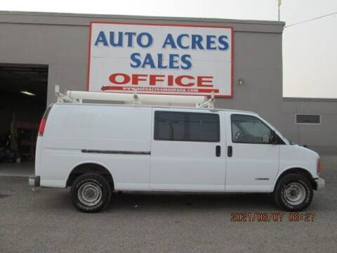 2000 Chevrolet Express Cargo for sale at Auto Acres in Billings MT