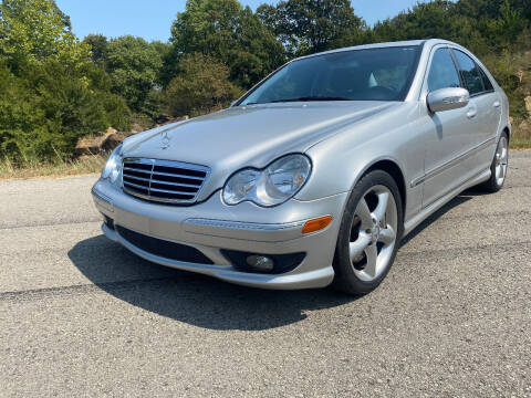 2005 Mercedes-Benz C-Class for sale at TINKER MOTOR COMPANY in Indianola OK