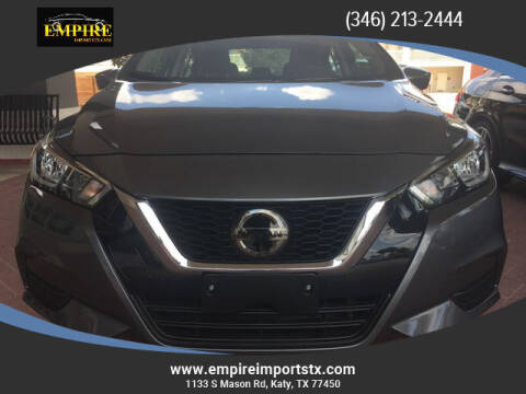 2020 Nissan Versa for sale at EMPIREIMPORTSTX.COM in Katy TX