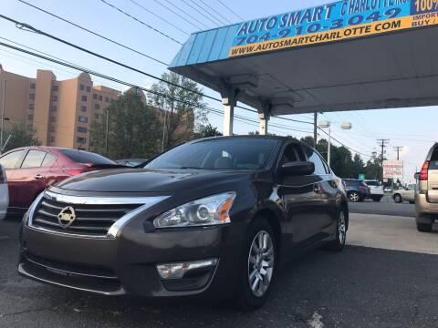 2015 Nissan Altima for sale at Auto Smart Charlotte in Charlotte NC
