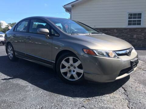 2006 Honda Civic for sale at No Full Coverage Auto Sales in Austell GA