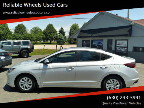 2020 Hyundai Elantra for sale at Reliable Wheels Used Cars in West Chicago IL
