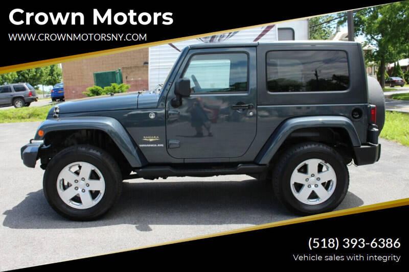 2008 Jeep Wrangler for sale at Crown Motors in Schenectady NY