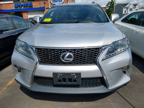 2014 Lexus RX 350 for sale at Washington Street Auto Sales in Canton MA