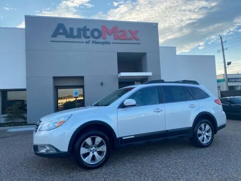 2012 Subaru Outback for sale at AutoMax of Memphis - Alex Vivas in Memphis TN