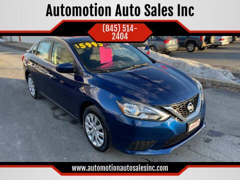 2016 Nissan Sentra for sale at Automotion Auto Sales Inc in Kingston NY