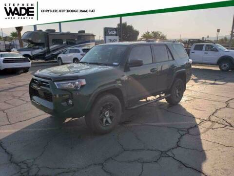 2021 Toyota 4Runner for sale at Stephen Wade Pre-Owned Supercenter in Saint George UT