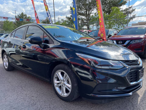 2016 Chevrolet Cruze for sale at Duke City Auto LLC in Gallup NM