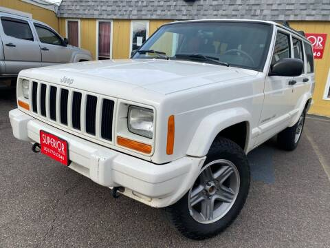 2000 Jeep Cherokee for sale at Superior Auto Sales, LLC in Wheat Ridge CO