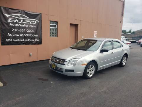 2006 Ford Fusion for sale at ENZO AUTO in Parma OH
