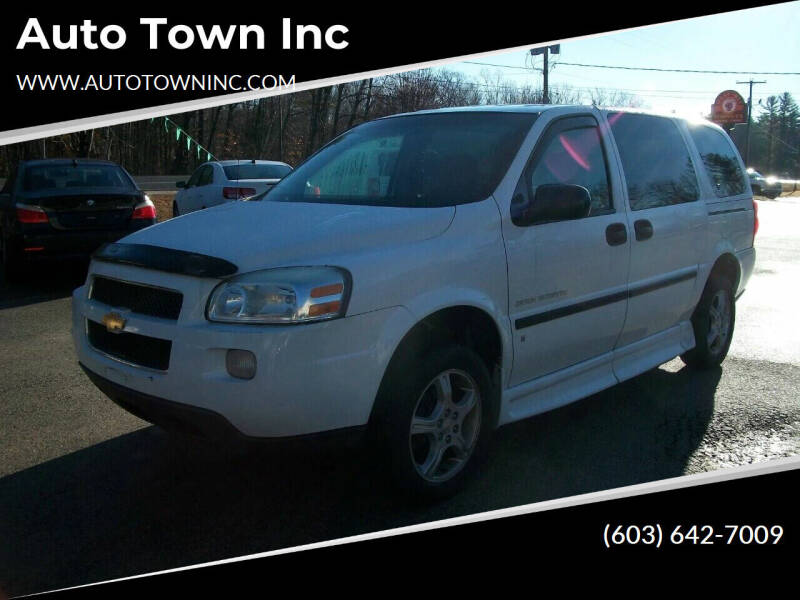 2007 Chevrolet Uplander for sale at Auto Town Inc in Brentwood NH
