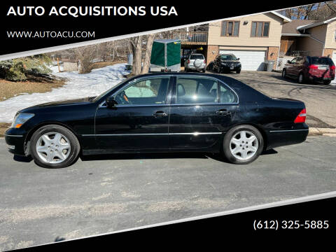 2005 Lexus LS 430 for sale at AUTO ACQUISITIONS USA in Eden Prairie MN