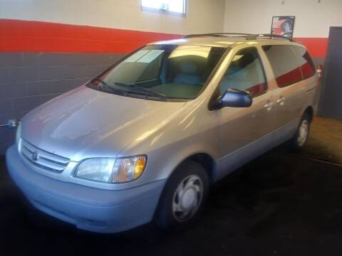 2001 Toyota Sienna for sale at D & J AUTO EXCHANGE in Columbus IN