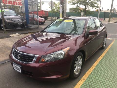 2008 Honda Accord for sale at DEALS ON WHEELS in Newark NJ