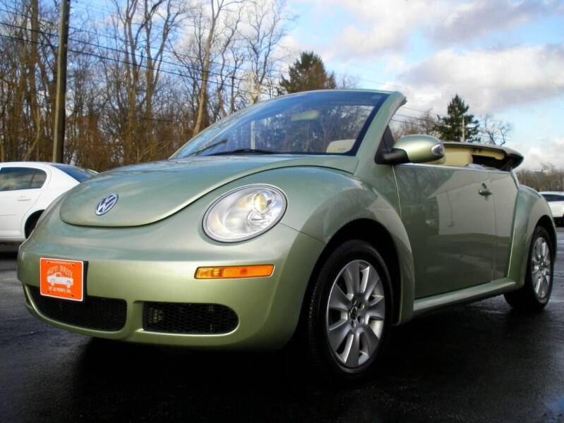 2009 Volkswagen New Beetle Convertible for sale at Auto Brite Auto Sales in Perry OH